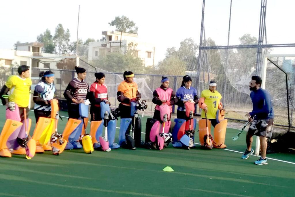 गोलकीपर के लिए छह दिवसीय विशेष प्रशिक्षण शिवपुरी में प्रारंभ