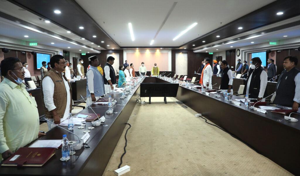 सीधी और निवाड़ी दुर्घटना में मृत व्यक्तियों को मंत्रि-परिषद ने दी श्रद्धांजलि