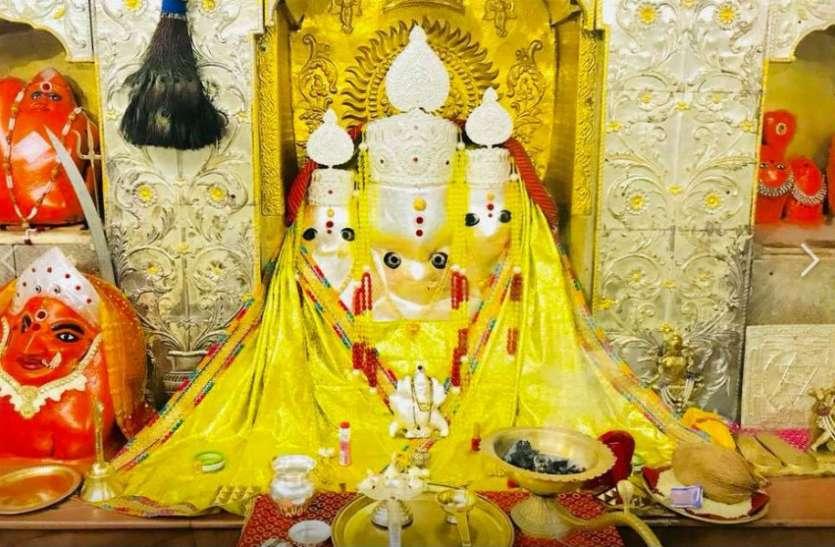 माँ पीताम्बरा मंदिर में दर्शन हेतु कोरोना संक्रमण को देखते हुए ऑनलाईन पंजीयन कराना होगा