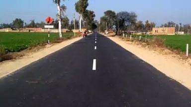 जिले के 15 गांवों की 17 हजार लोग पक्की बारहमासी सड़क से जुड़े