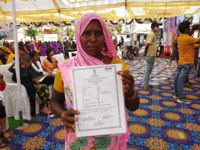 726 आदिवासी परिवारों को मिले वनाधिकार हक प्रमाण पत्र