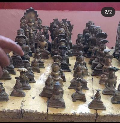 चौबीसी मंदिर के जीर्णोद्धार से निकली 84 जैन प्राचीन प्रतिमाएं