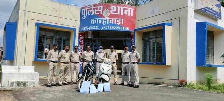 कान्हीवाड़ा पुलिस ने किया अंधे हत्याकांड का पर्दाफाश, चार आरोपित गिरफ्तार